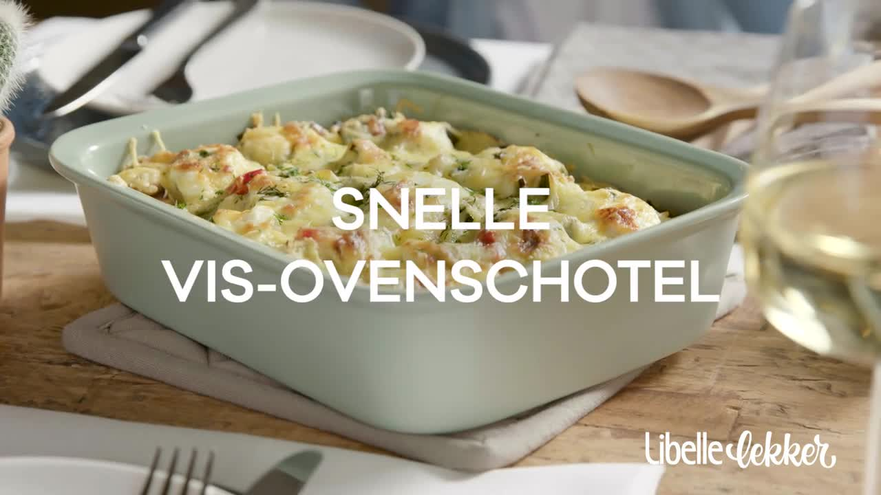 ovenschotel op voorhand klaarmaken